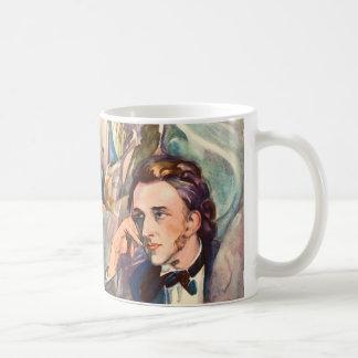 Frederic Chopin Composer Musician Beroemd Portrait Koffiemok