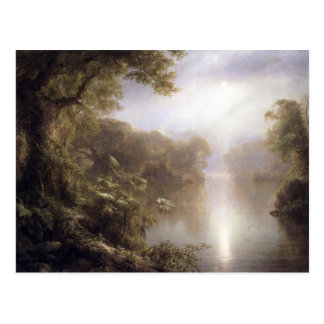 Frederic Edwin Church - Ochtend in de keerkringen Briefkaart
