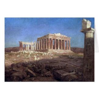 Frederic Edwin Church - Parthenon Kaart