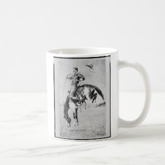 Frederic Remington Cowboy On Bronco Koffiemok