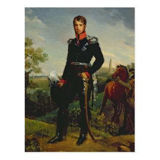 Frederic William III Koning van Pruisen, 1814 Briefkaart