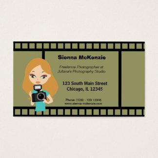 Freelance Fotograaf Visitekaartjes