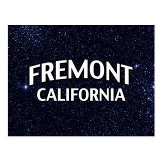 Fremont Californië Briefkaart