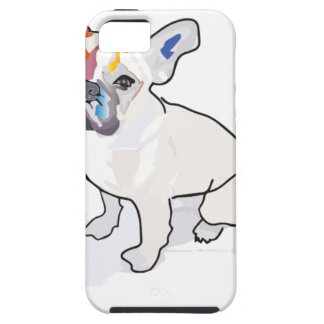 frenchie clown tough iPhone 5 hoesje