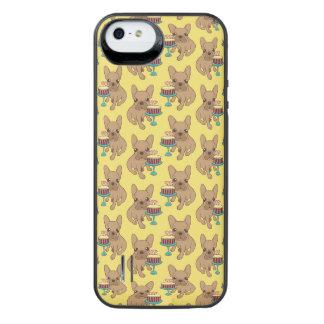 Frenchie heeft een Verjaardag iPhone SE/5/5s Batterij Hoesje
