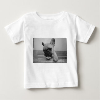 Frenchie puppy baby t shirts
