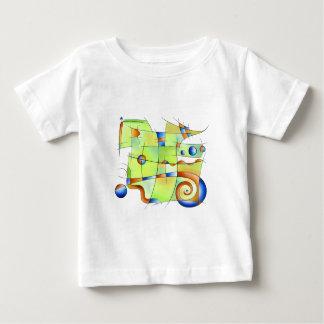 Frenesia - gekke wereld zonder rug baby t shirts
