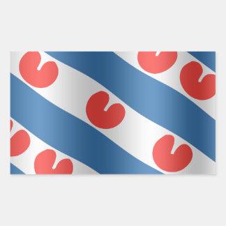 Fresian Flag Rechthoekige Sticker