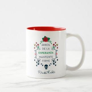 Frida Kahlo | Árbol DE La Esperanza Tweekleurige Koffiemok