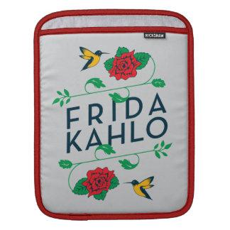 Frida Kahlo   BloemenTypografie Sleeve Voor iPad