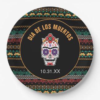 Frida Kahlo | Dia DE Los Muertos Papieren Bordje
