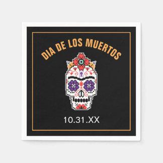 Frida Kahlo | Dia DE Los Muertos Wegwerp Servetten
