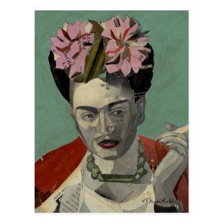 Frida Kahlo door Garcia Villegas Briefkaart