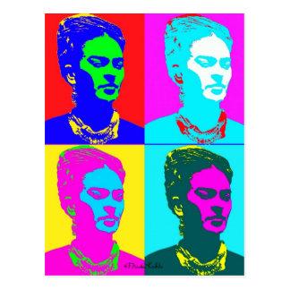 Frida Kahlo Geïnspireerd Portret Briefkaart