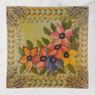 Frida Kahlo Geschilderde Flores Sierschaaltjes