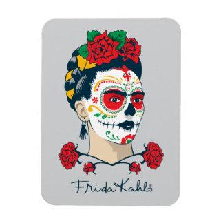 Frida Kahlo | Gr Día DE los Muertos Magneet