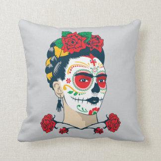 Frida Kahlo | Gr Día DE los Muertos Sierkussen