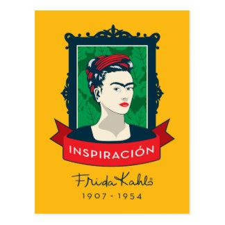 Frida Kahlo   Inspiración Briefkaart