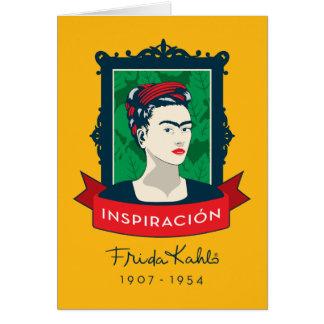 Frida Kahlo   Inspiración Briefkaarten 0