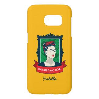 Frida Kahlo   Inspiración Samsung Galaxy S7 Hoesje