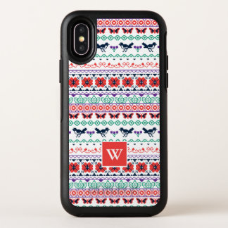 Frida Kahlo | Mexicaans Patroon OtterBox Symmetry iPhone X Hoesje