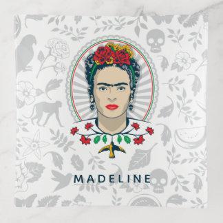 Frida Kahlo | Vintage Bloemen Sierschaaltjes