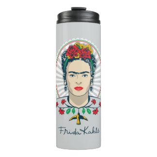 Frida Kahlo | Vintage Bloemen Thermosbeker