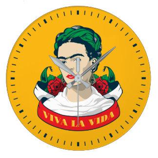 Frida Kahlo | Viva La Vida Grote Klok