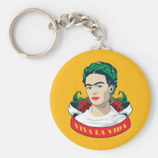 Frida Kahlo   Viva La Vida Sleutelhanger