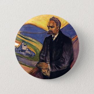 Friedrich Nietzsche Edvard Munch Ronde Button 5,7 Cm