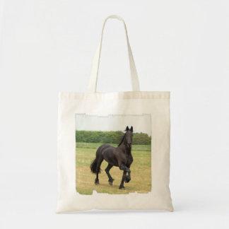 Friesian Kleine Canvas tas van het Paard