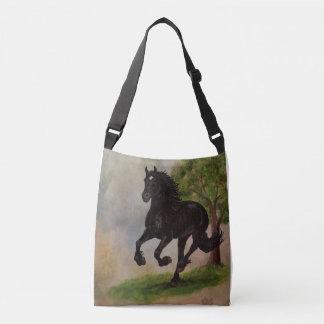 Friesian Lopende Canvas tas van het Paard