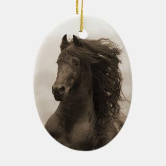 Friesian Ornament van de Vakantie van het Paard
