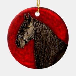 Friesian Ornament van het Paard