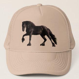 Friesian Paard Trucker Pet