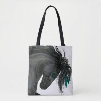 Friesian Zwarte Zak van het Paard door Bihrle Draagtas