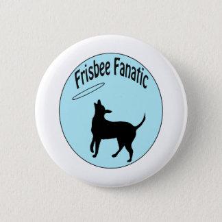 frisbee fanatiek overhemd ronde button 5,7 cm