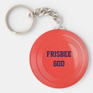 Frisbee Textuur Gepersonaliseerde Keychain Sleutelhanger