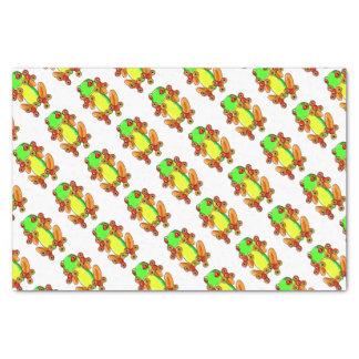 Frog spinner 25,4 x 38,1 cm zijdepapier