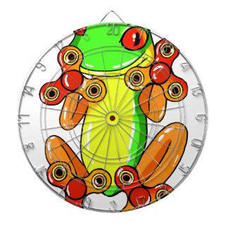 Frog spinner dartborden