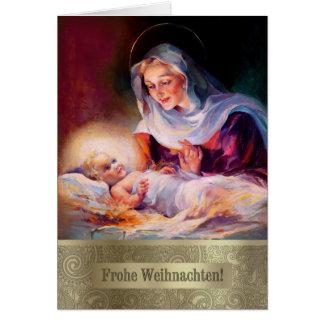 Frohe Weihnachten. De Duitse Fijne Kerstkaarten Briefkaarten 0