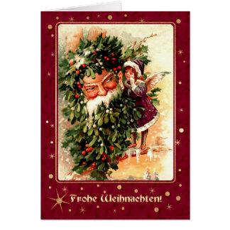 Frohe Weihnachten. De Duitse Wenskaarten van