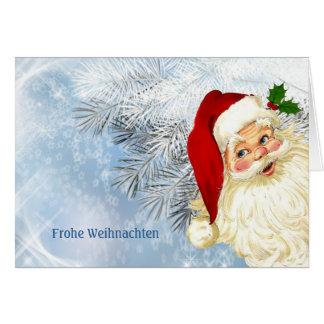 Frohe Weihnachten - Duitse Kerstmis Briefkaarten 0