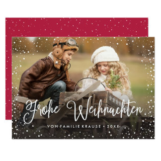 Frohe Weihnachten   Weihnachtskarte Kaart