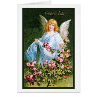 """Frohliche Ostern"" het Vintage Duits Kaart"