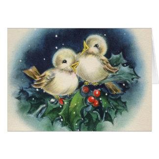Fröhliche Weihnachten! Wijnoogst Briefkaarten 0