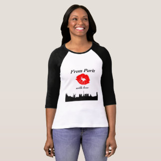 From Parijs with Love tshirt
