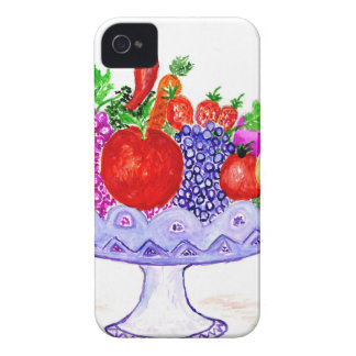 Fruit in het Art. van de Vaas iPhone 4 Hoesje