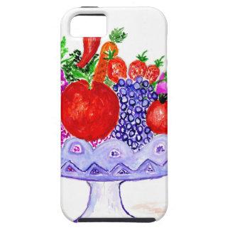 Fruit in het Art. van de Vaas Tough iPhone 5 Hoesje