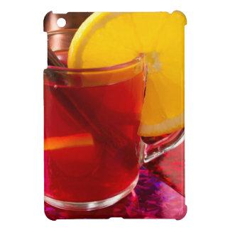Fruit overwogen wijn met kaneel en sinaasappel iPad mini case